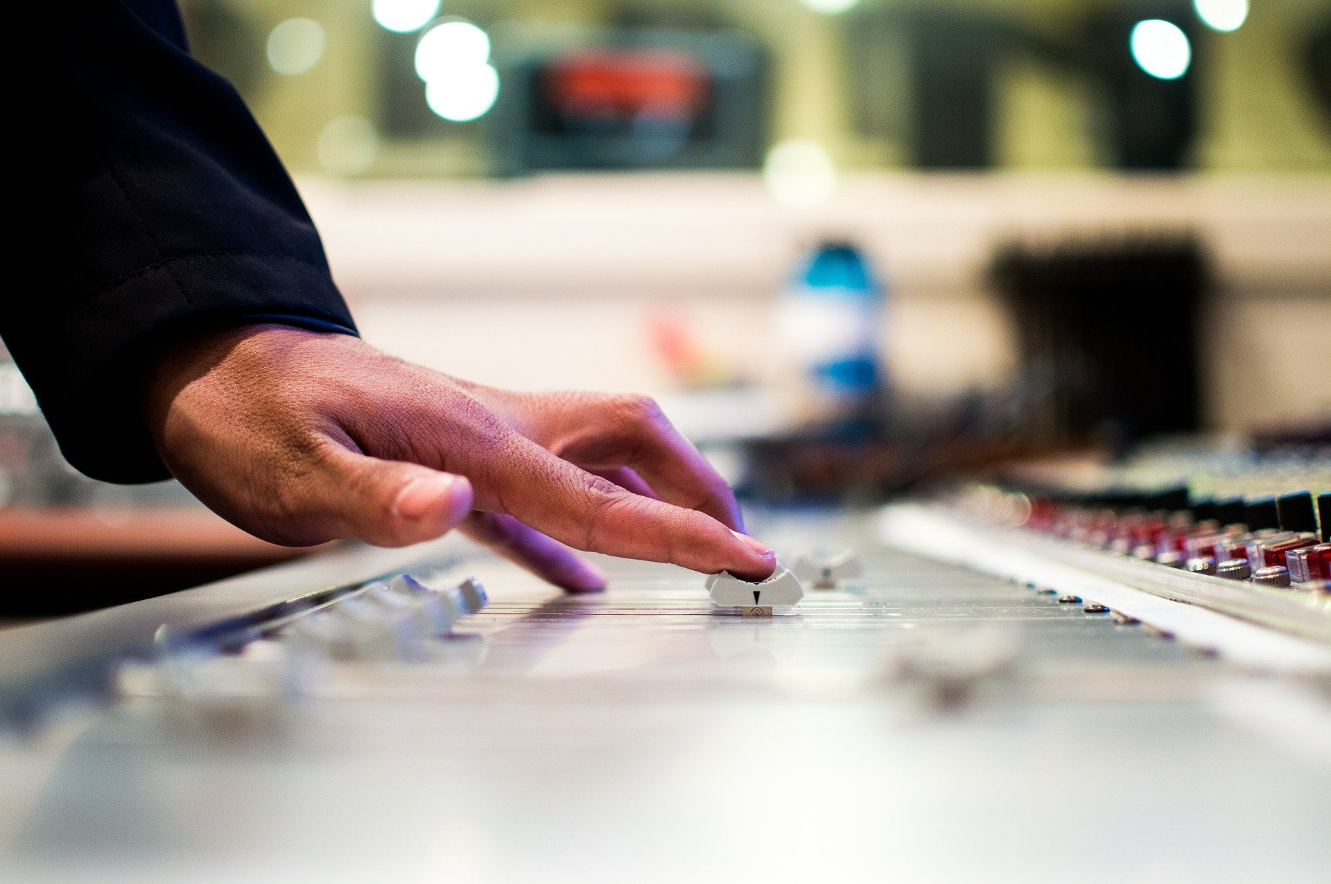 Mixing Desk Picture