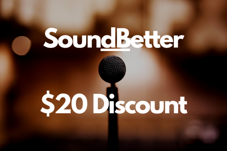 SoundBetter Referral Code: Up to $20 Discount With Your First Project